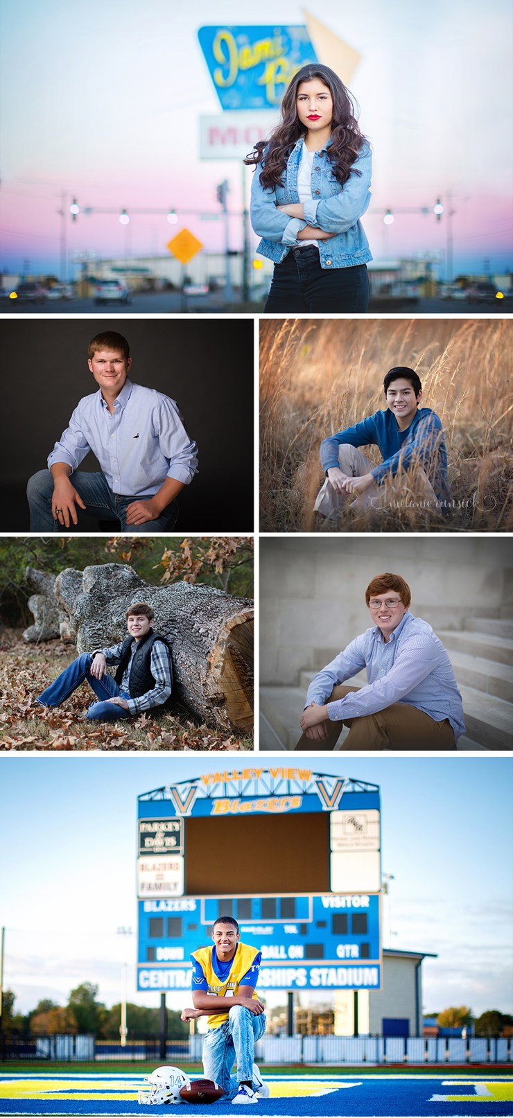Arkansas High School Senior Photographer Melanie Runsick Photography