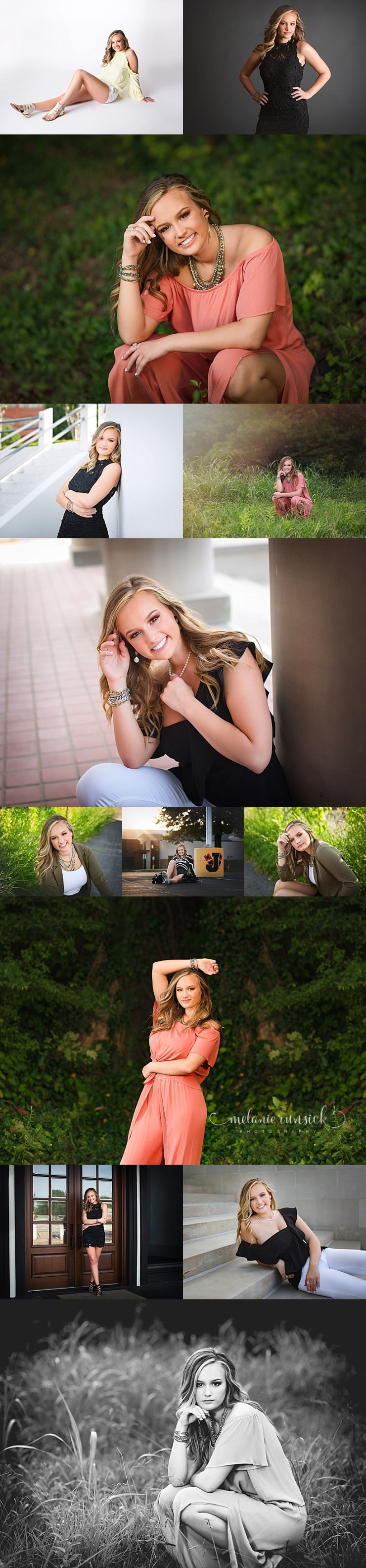 Jonesboro High School Senior Portrait Photographer Melanie Runsick Photography