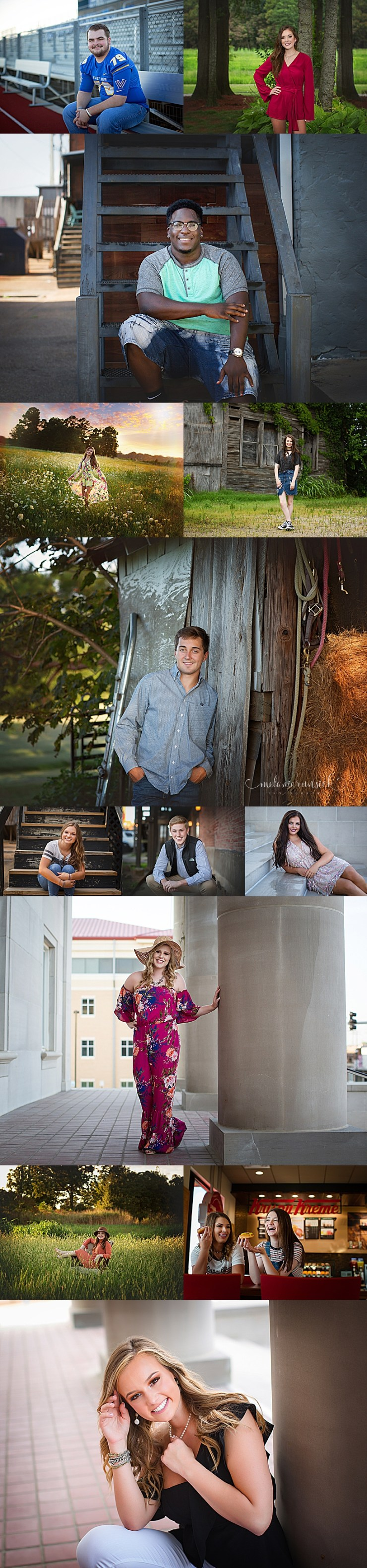 Jonesboro Senior Portrait Artist Melanie Runsick Photography