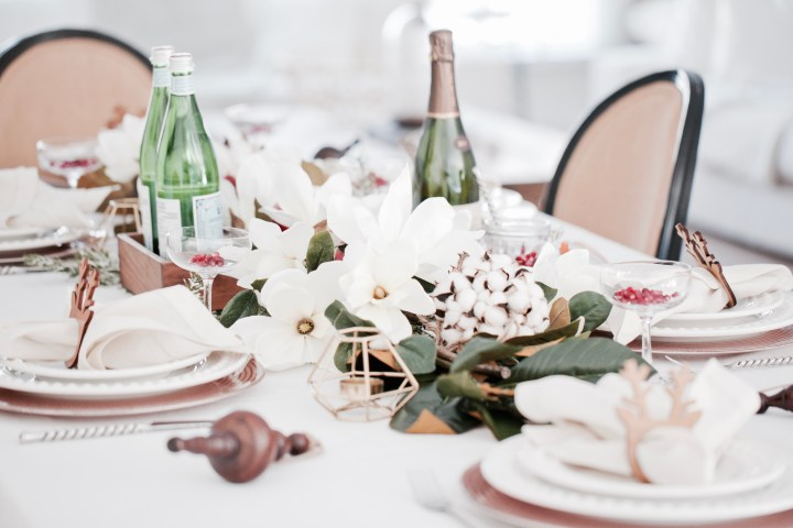 My Festive Tablescape with Decors Veronneau