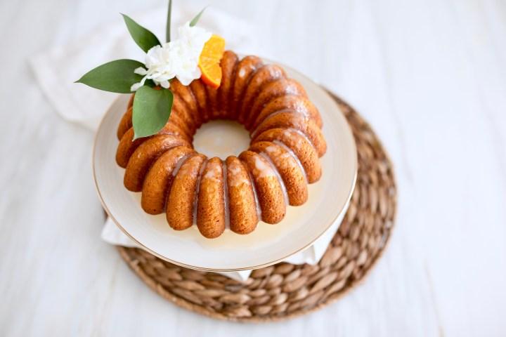 LIME & MANDARINE BUNDT CAKE    