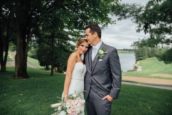 Southeast Michigan outdoor Wedding: Eric + Jessica