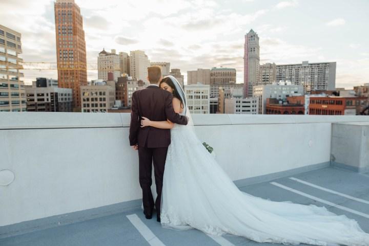 Nina + Frank // An Elegant Detroit Wedding