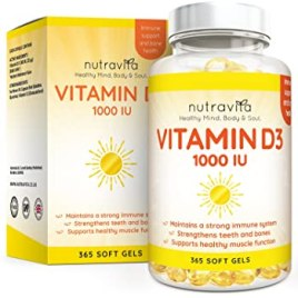 Vitamina D3, 1000 IU – Integratore In Pillole Di Vitamina D Colecalciferolo