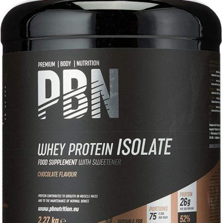Premium Body Nutrition, proteine isolate del siero di latte in polvere