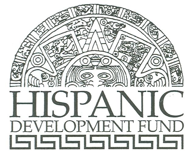 HDF logo, bw