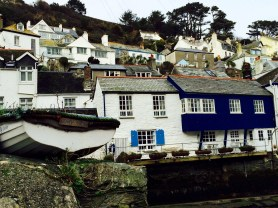 Jolly john rowing boat, Polperro harbour
