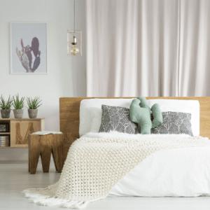 Western style bedroom interior