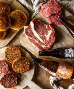 Father's Day Steak BBQ Box - gift ideas for Father's Day western style