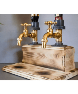 Father's Day-Liquor Alcohol Whiskey wood Dispenser