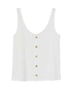 H&M ribbed white vest top 250x300 blog minis template