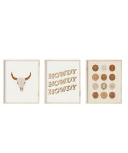 howdy western prints