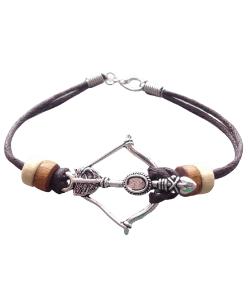 Crossbow Bracelet - Bow and arrow bracelet - tribal bracelet - boho jewellery nature bracelet