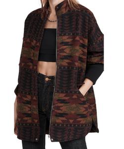 By BB Dakota. Cabin Fever Coat, aztec print coat