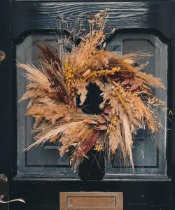 Autumn wreath from Etsy