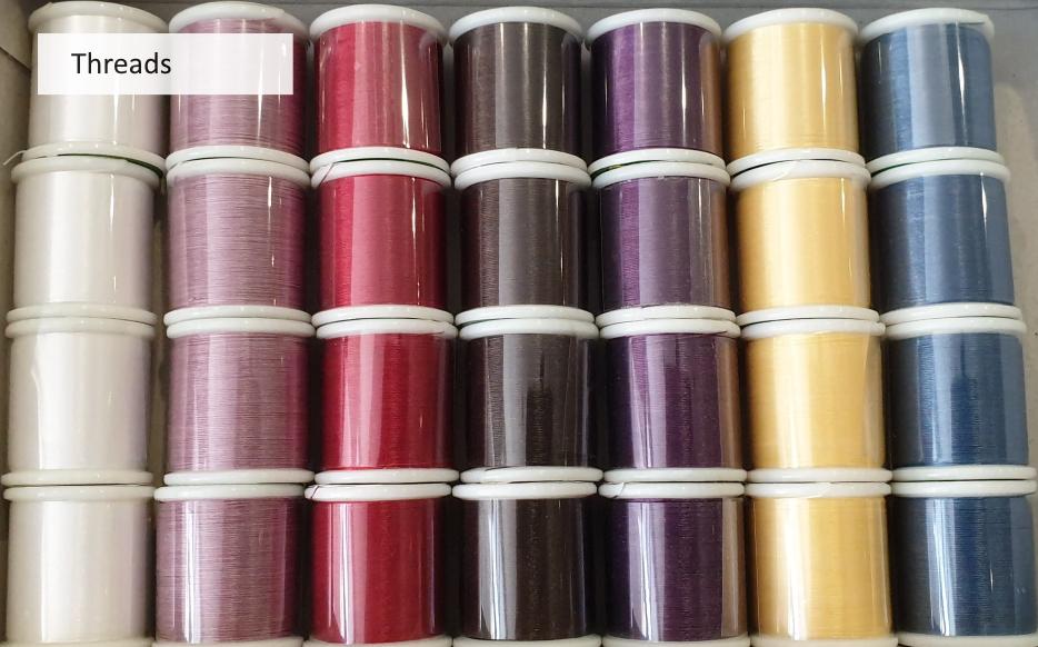 Cranberry Beads Thread