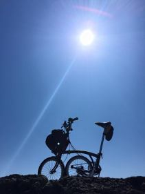 Brompton in the sun by @StanleyTankh