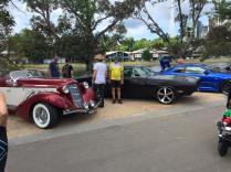 Some of the cars at the 100mm car show via @stanleytankh