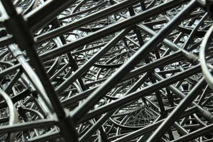 """""""Forever Bicycles"""" by Ai Weiwei - photo by @Baudman"""