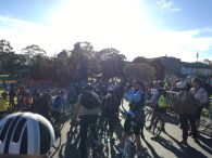 Queueing up to start at Hawthorn Velodrome - #MelburnRoobaix #Melbourne #Brompton Club