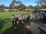 Some people like to coordinate - #MelburnRoobaix