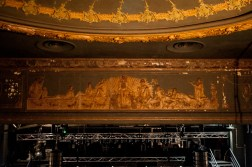 Frieze above the stage