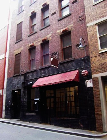 22 Watson place. Demolished for 170 Collins. Was a salvos soup kitchen in the 1930s.