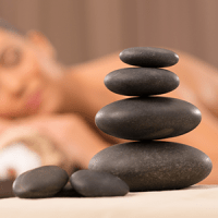 Hot Stones With Remedial Massage