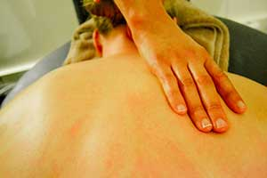remedial massage for back pain