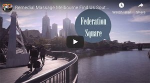 find remedial massage southbank