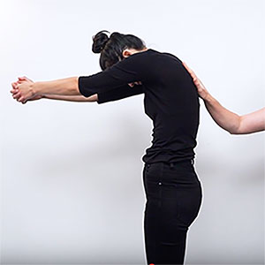 upper back stretch
