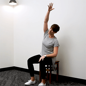 Seated Stretches For Desk Workers