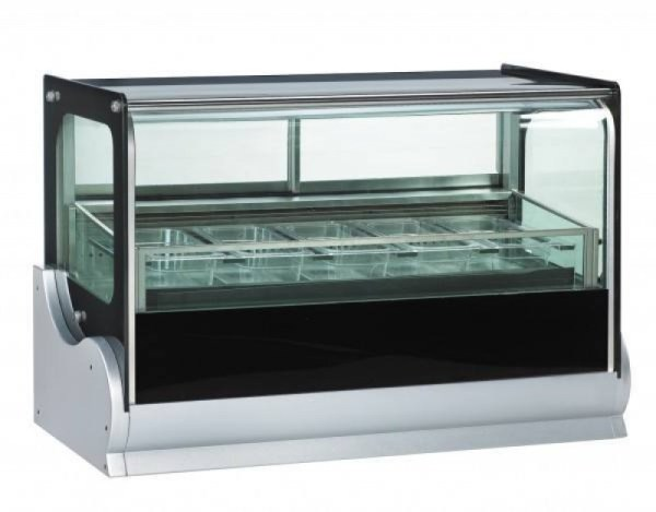 Anvil Countertop Showcase Freezer Ice Cream Display