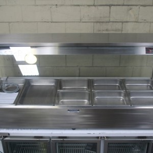 Woodson Five Module Hot Food Bain Marie
