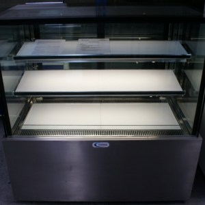 Mitchell Square Glass Cake Display Fridge