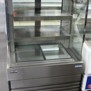 Koldtech Square Glass Cake Display Fridge