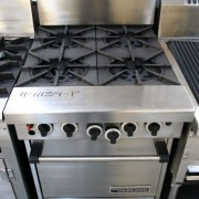 Garland Four Burner Oven Range
