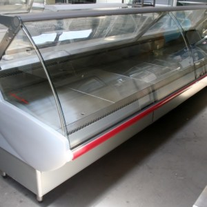 Criocabin Curved Glass Deli Display