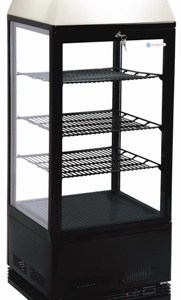 Venice LC Black Bench Top Display Fridge