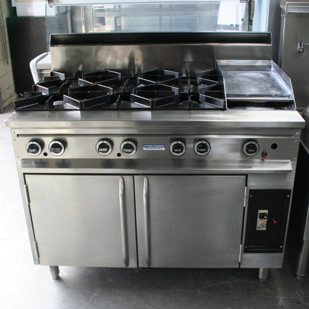 Gas Stove With Grill ~ Supertron burner grill jumbo gas oven range mrce