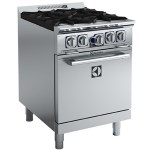 Electrolux ACFG24TW Compact 4 Burner Gas Oven Range