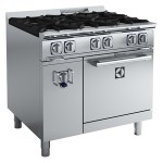Electrolux ACFG36TW 6 Burner Compact Gas Oven Range