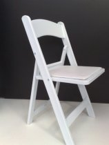 White_American_Folding_Chair