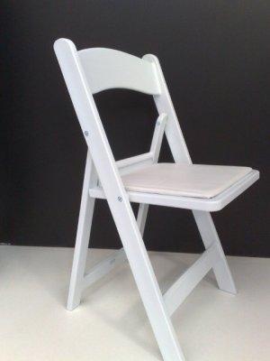 White_American_Folding_Chair