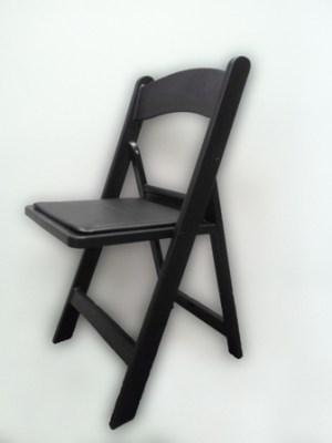 black-american-folding-chair