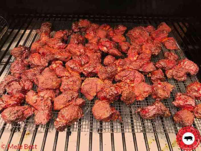 Pork burnt ends