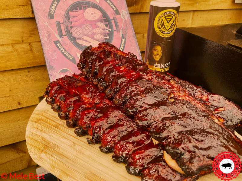 Sticky portstroop ribs