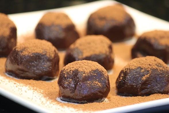 Docinho de chocolate e castanha portuguesa