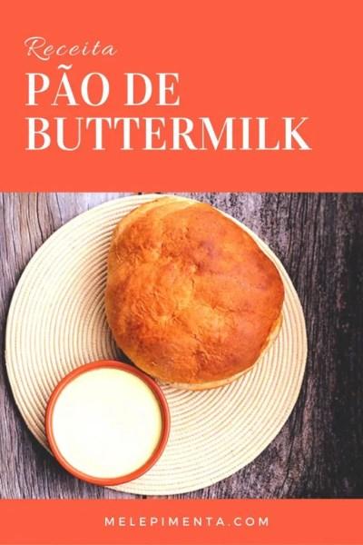 Pão de buttermilk e manteiga caseira