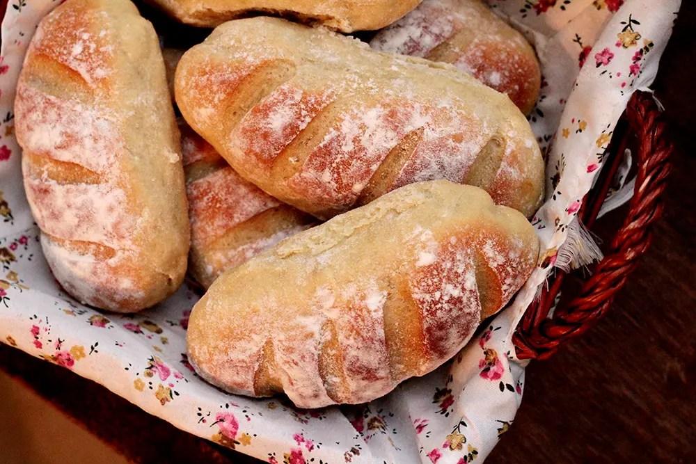 Pãezinhos de batata-doce - Faça em casa